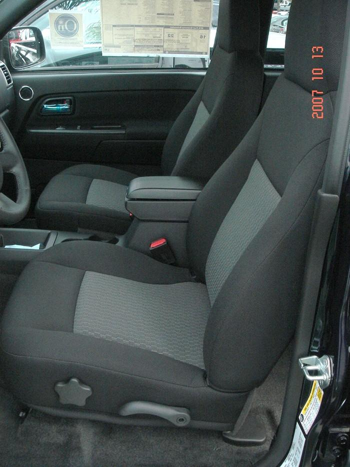 Gmc Seat Covers >> 2004-2012 Chevy Colorado and GMC Canyon Front High Back Bucket Seats | Durafit Covers | Custom ...