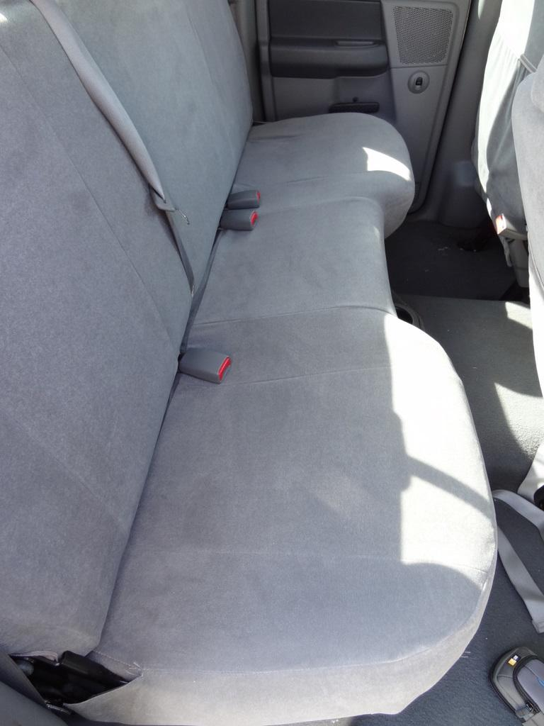 2006 2008 Dodge Ram 1500 3500 Crew Cab Rear Solid Bench Seat With Adjustable Headrests Durafit