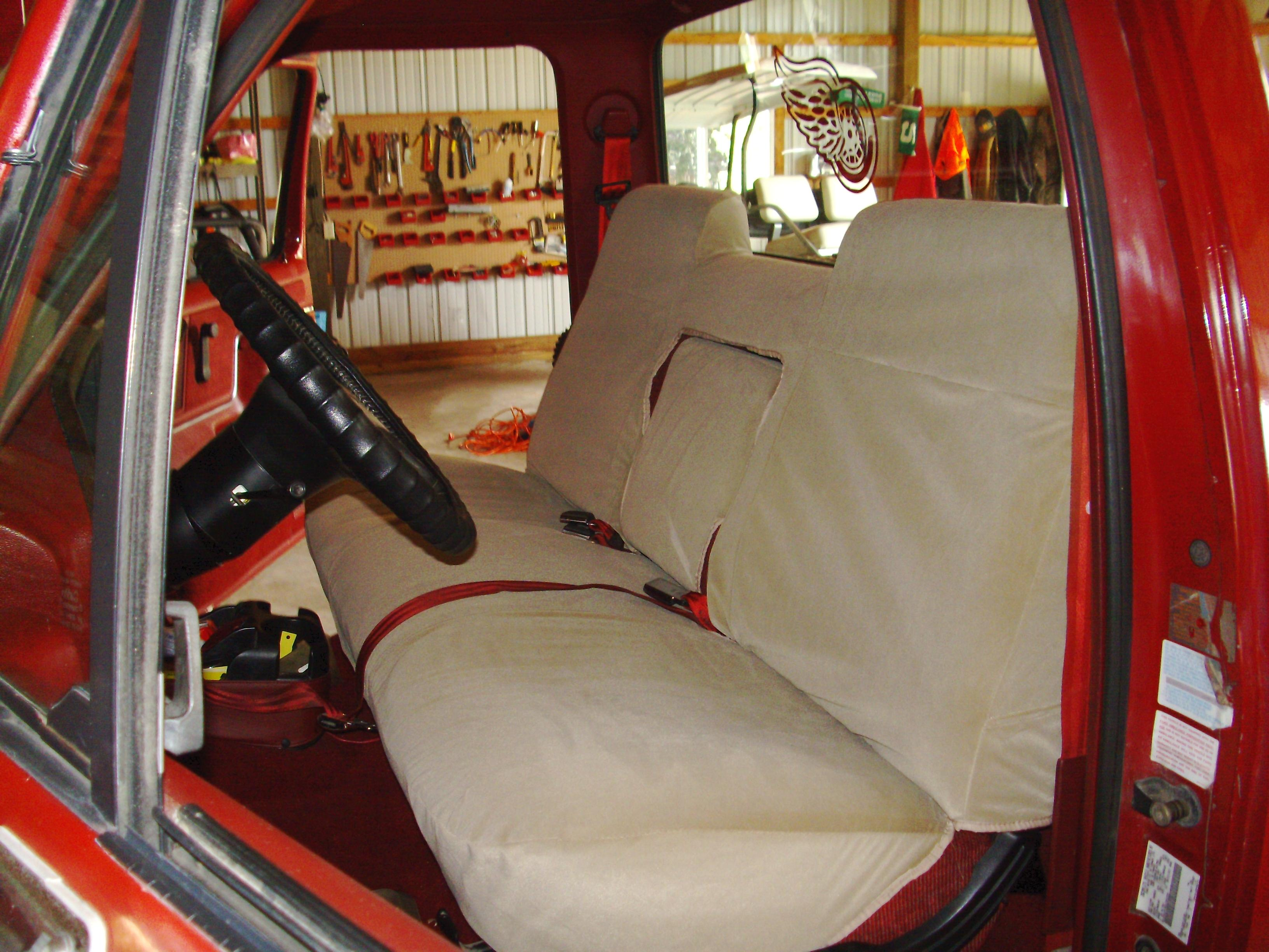1986 1991 Ford Truck Regular Cab Front High Back Bench