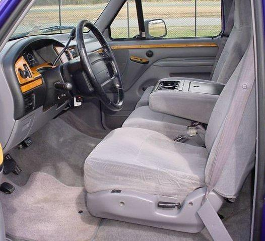 1997 Ford F350 Regular Cab Interior: 1993-1998 Ford Truck F150-F550 Regular , XCab And Crew Cab
