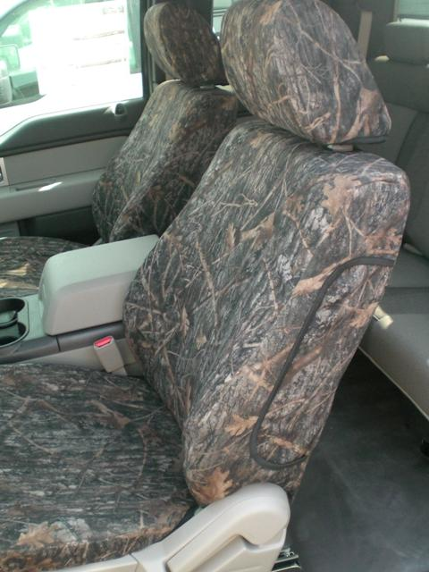 2010 Ford F150 Super Cab Front And Back Seat Set Front
