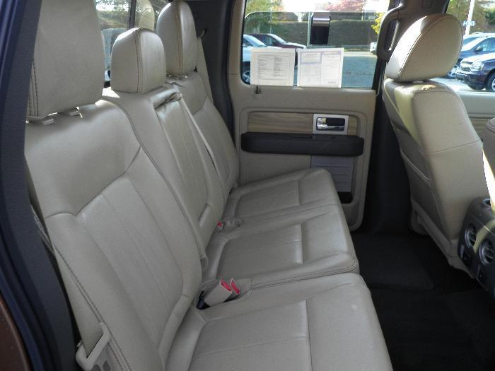 2011 2013 Ford F150 Platinum King Ranch Rear 60 40 Split