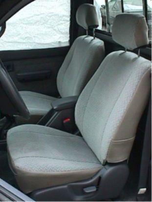 Tacoma Seat Covers >> 1995-2000 Toyota Tacoma Regular Flat and XCab Low Back Bucket Seats   Durafit Covers   Custom ...