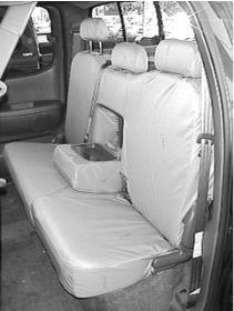 2005 2006 Toyota Tundra Access Cab Front And Back Seat Set